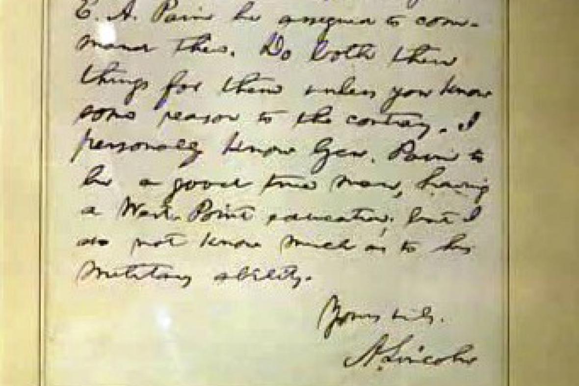 Rukopis prezidenta Lincolna