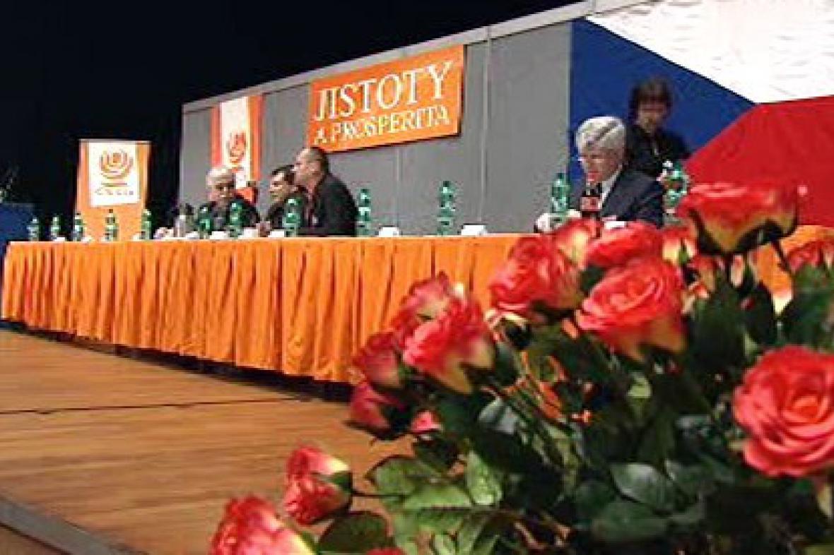 Jednání užšího vedení sociální demokracie