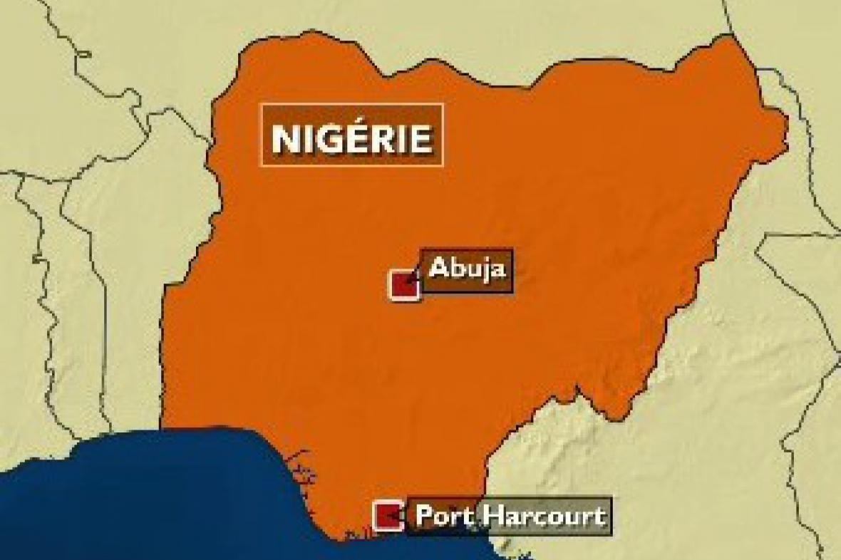 Mapa Nigérie