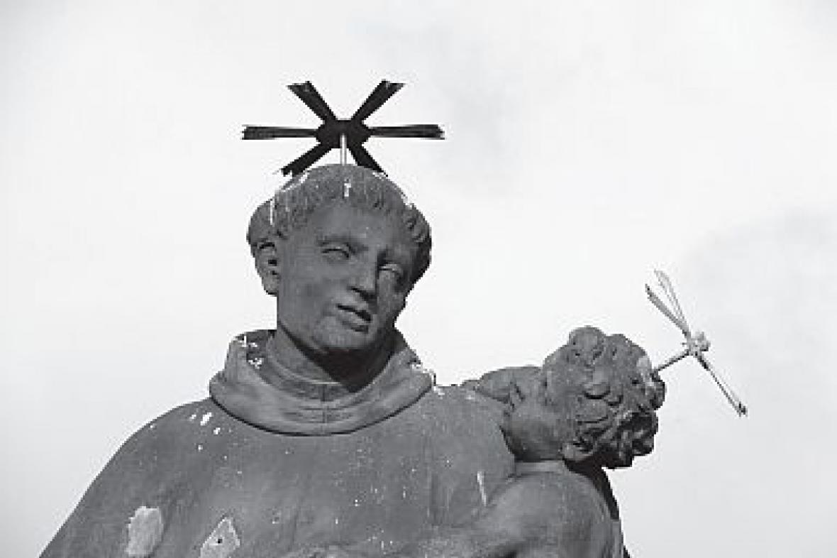Socha sv. Antonína Paduánského