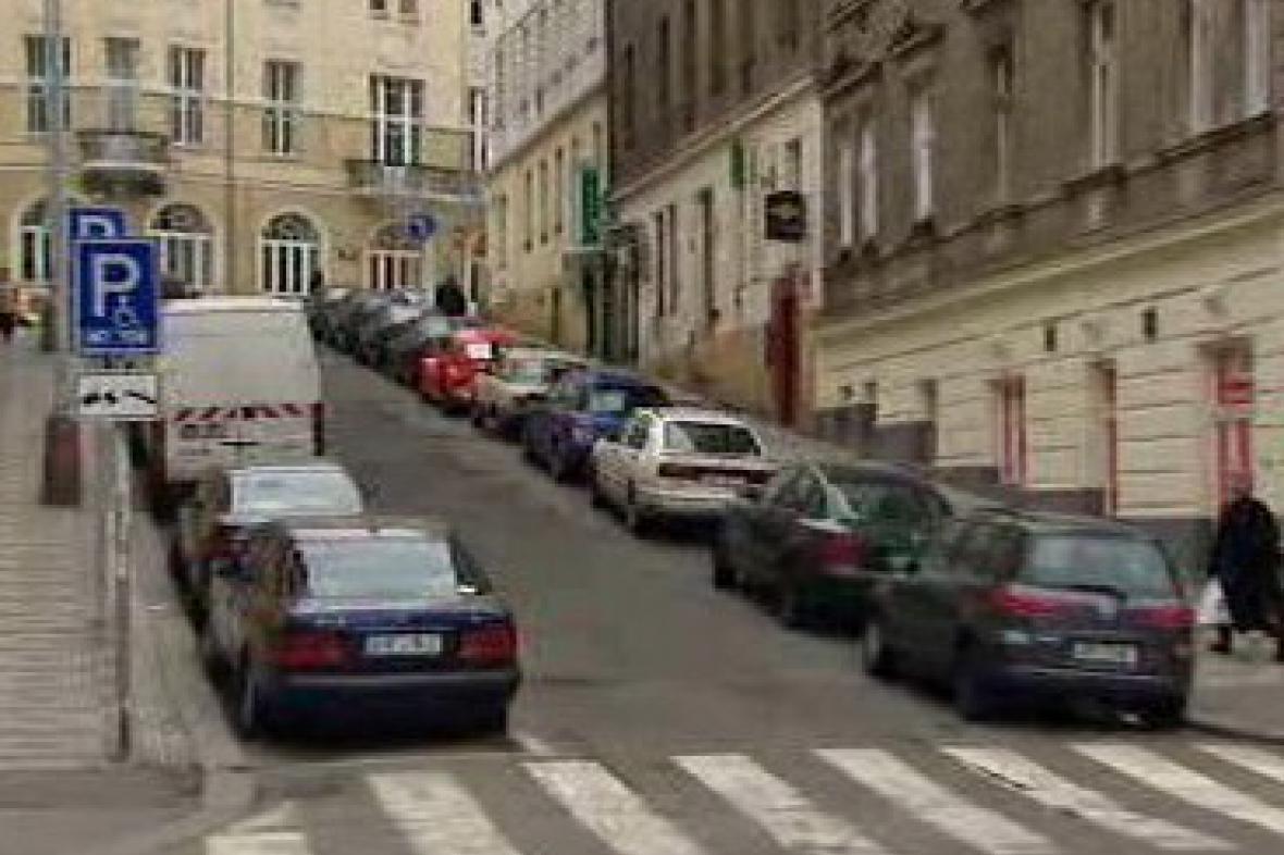 Parkování na Žižkově