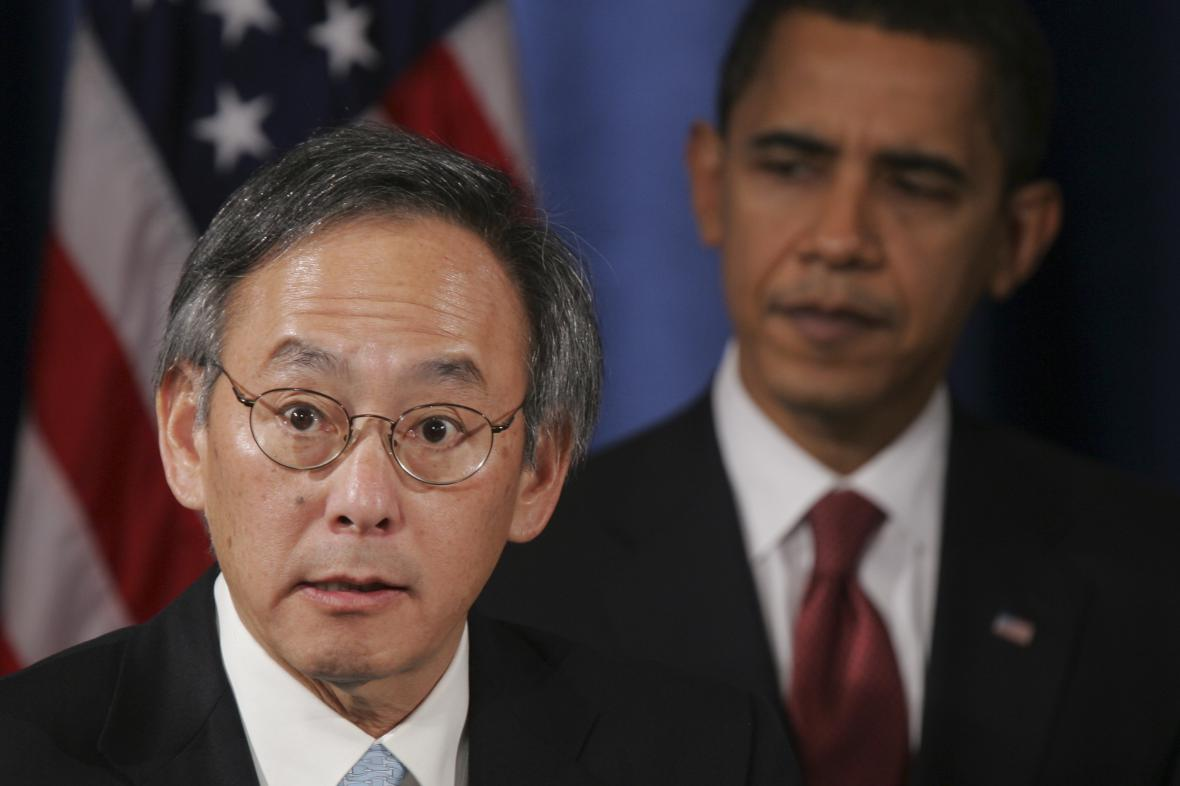 Steven Chu a Barack Obama