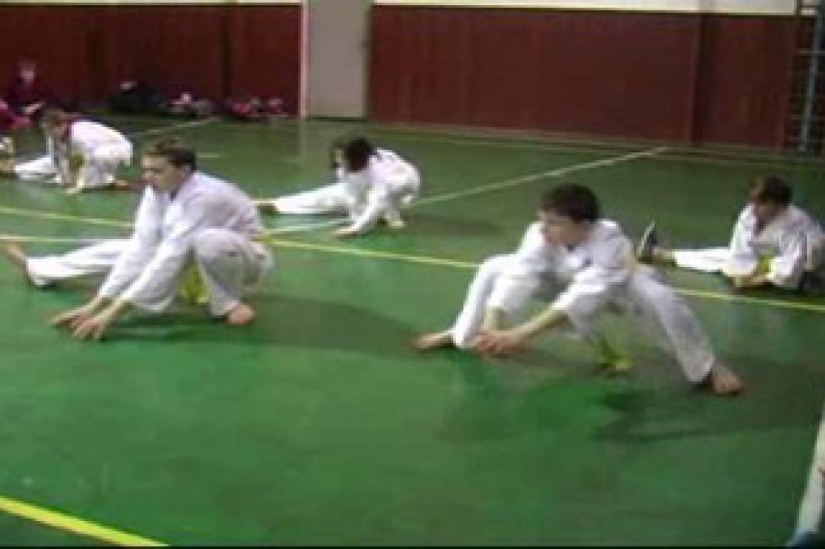 Trénink taekwon-da