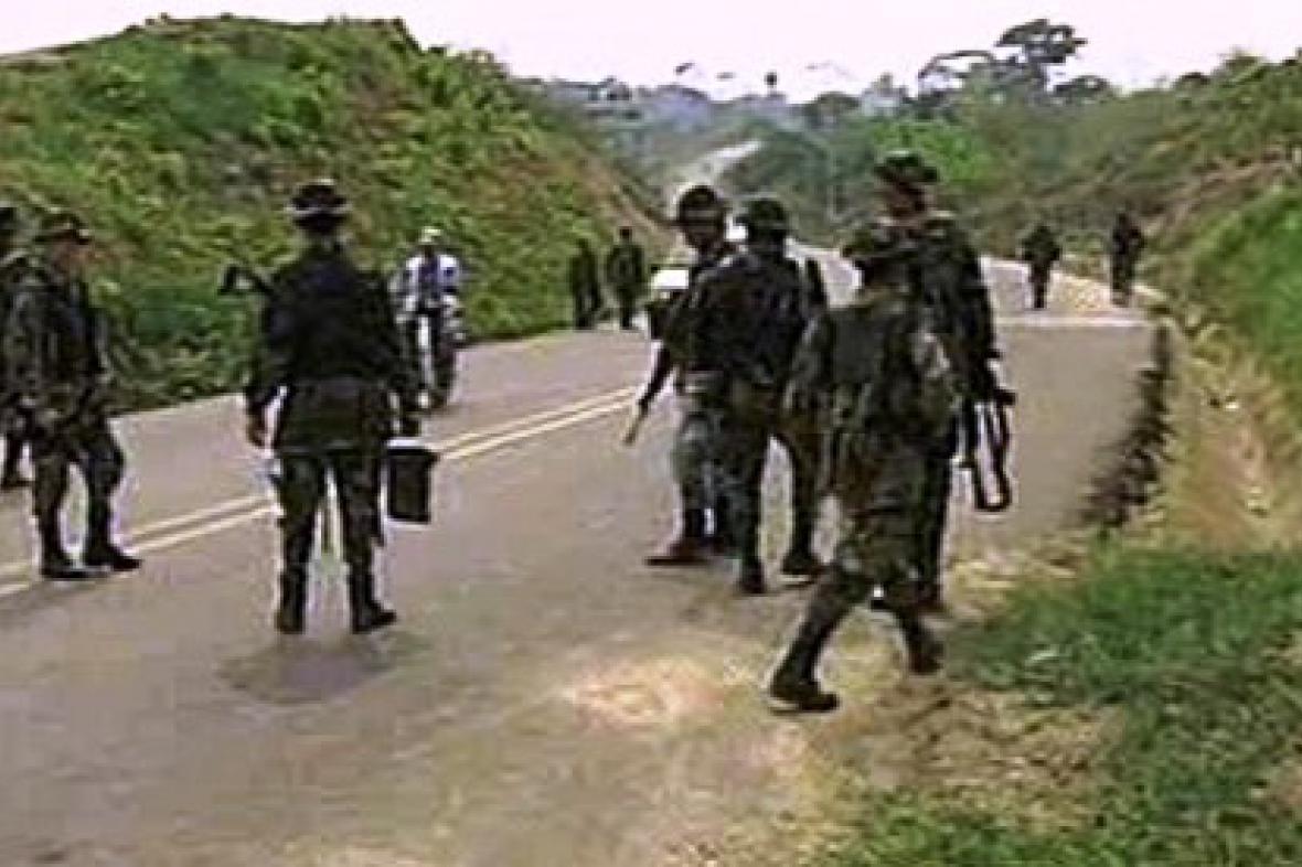 Povstalecké jednotky v Kolumbii