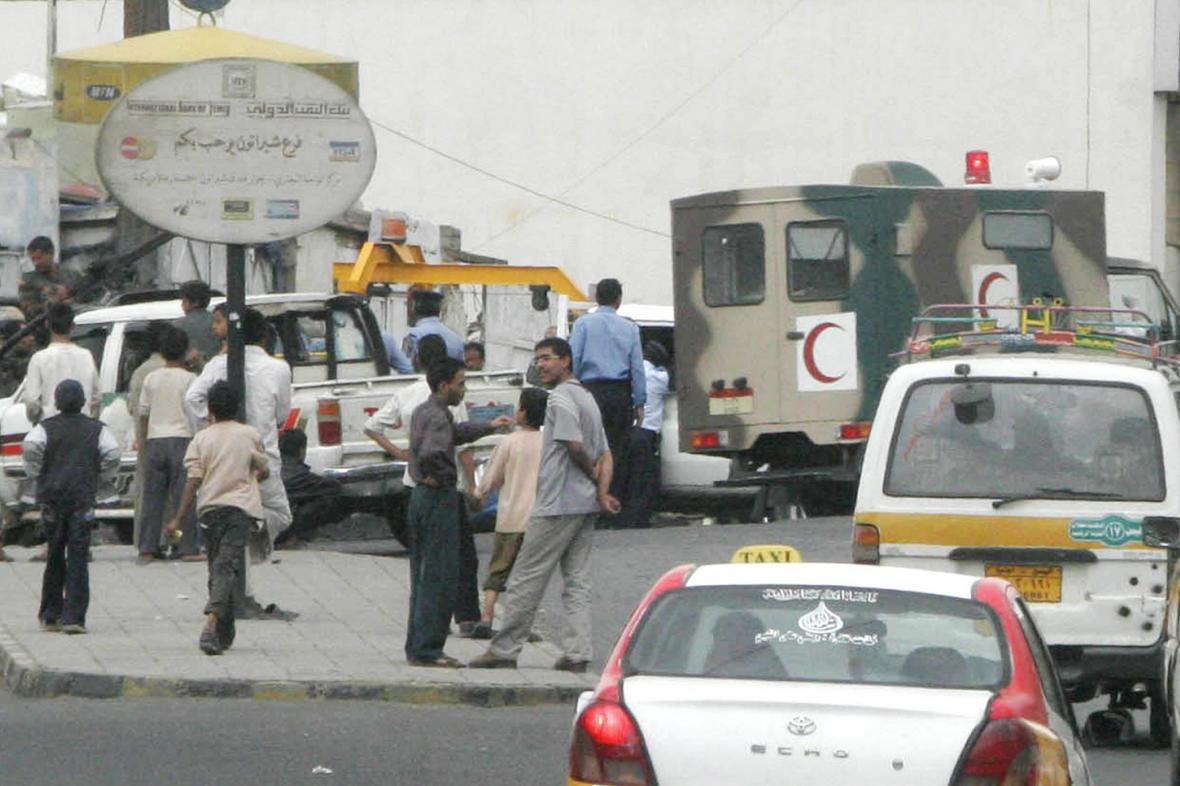 Atentát na americké velvyslanectví v Jemenu