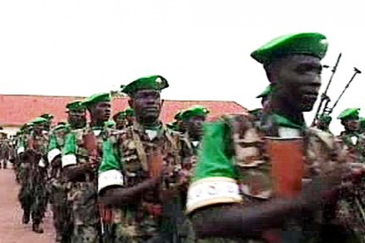 Etiopští vojáci