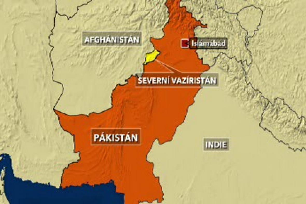 Pákistánská provincie Severní Vazírstán