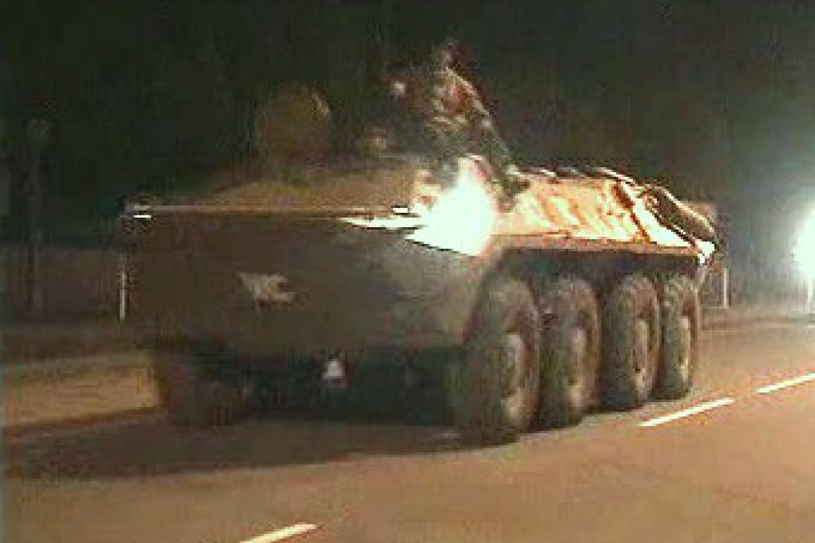 Ruský obrněný transportér