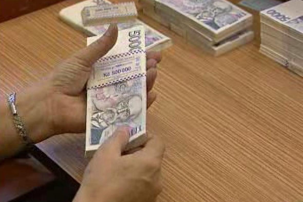 Přepočítávání peněz