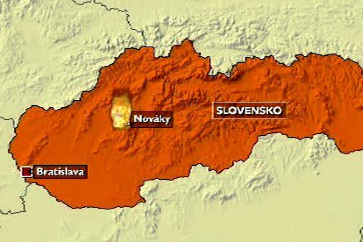 Požár slovenské elektrárny