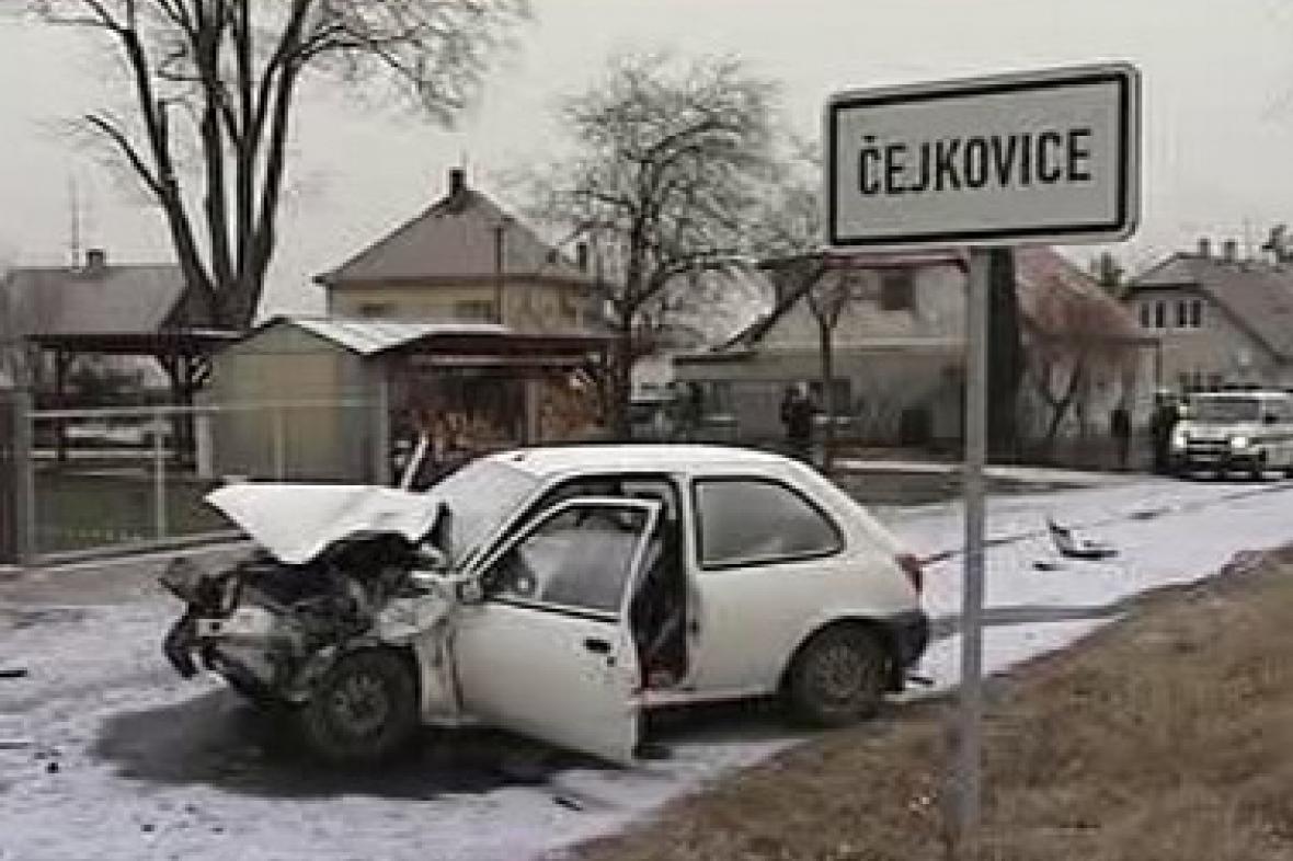 Tragická nehoda v Čejkovicích