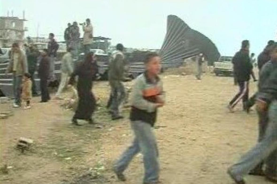 Palestinci v Gaze