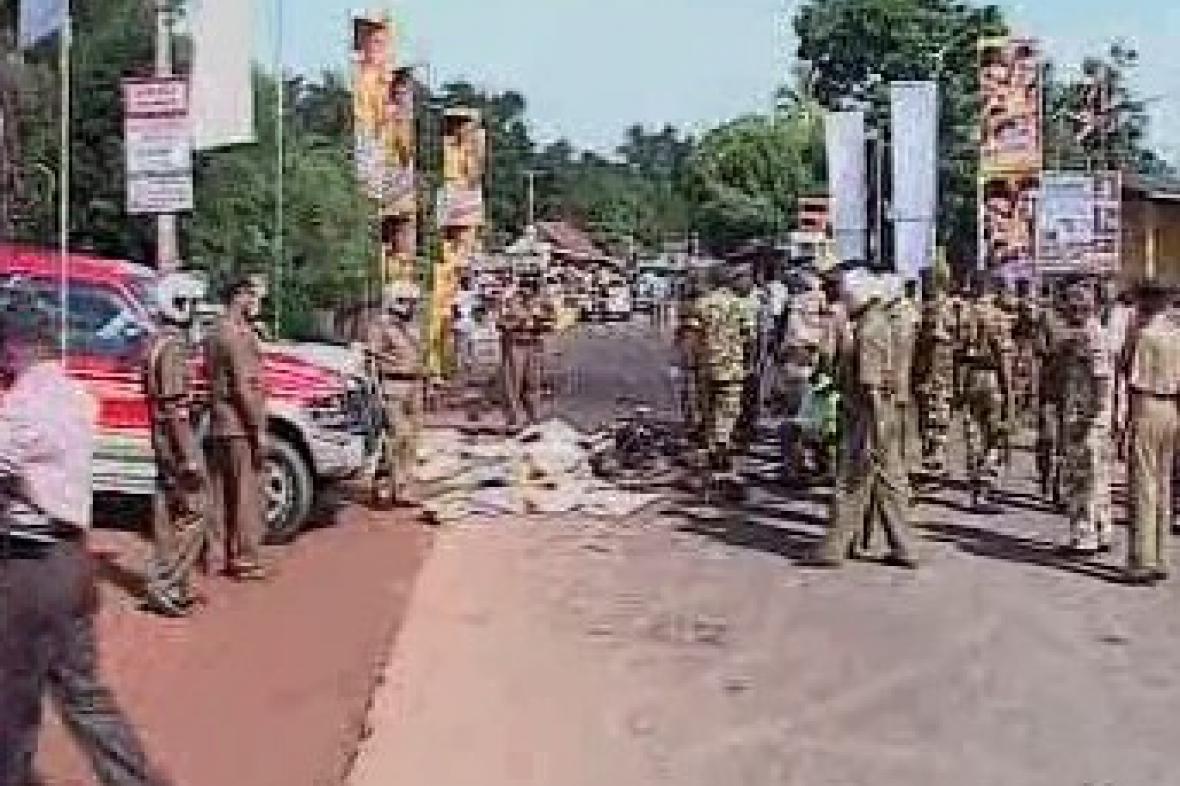 Výbuch na Srí Lance