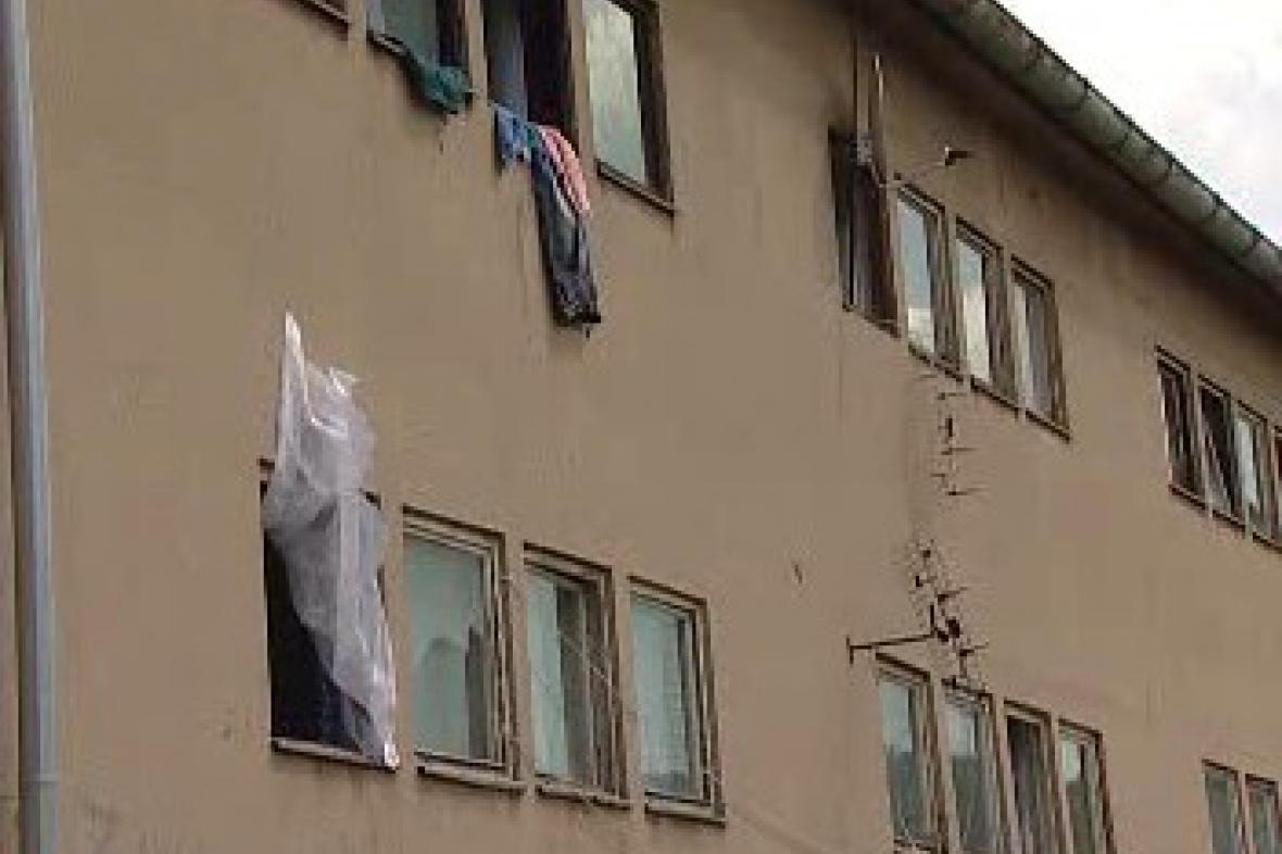 Nezkolaudovaný objekt v Ústí nad Labem