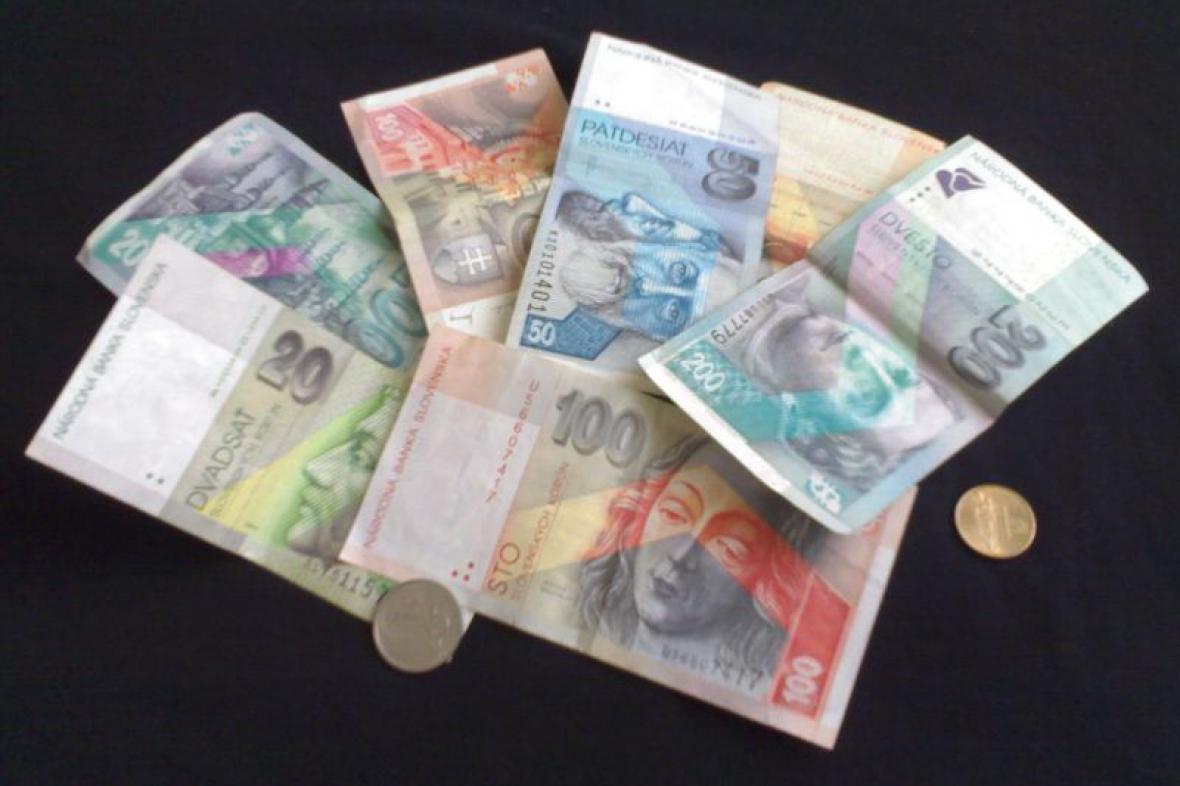 Slovenské peníze