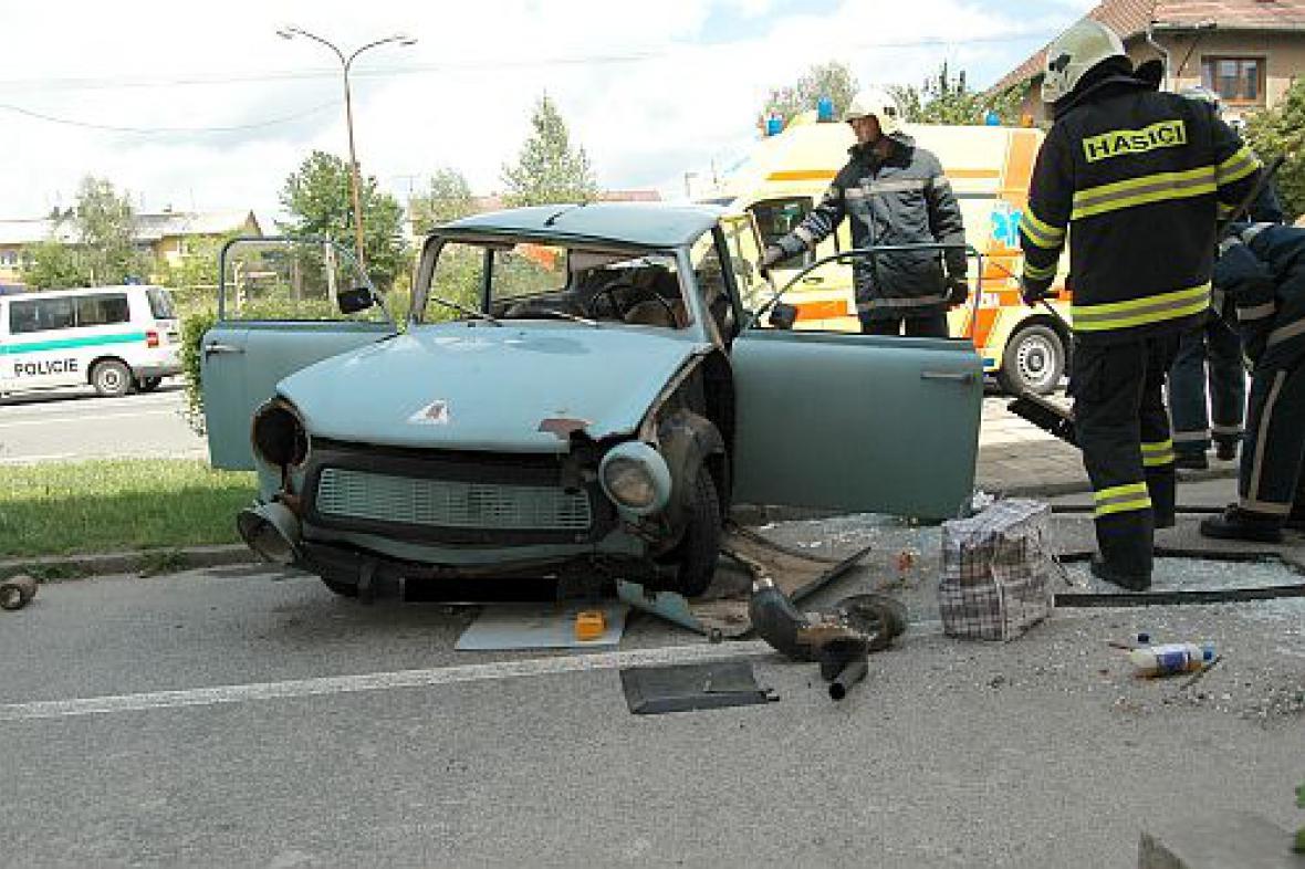 Nehoda Trabantu