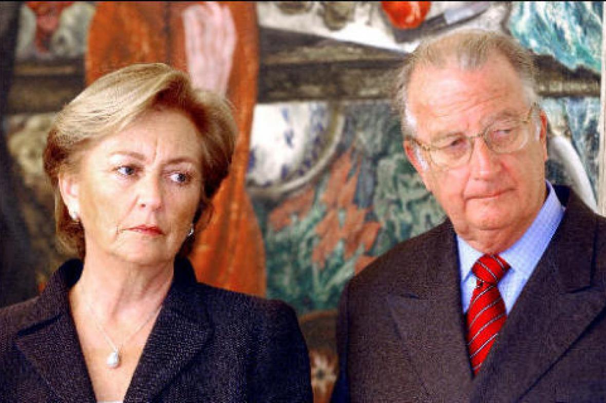 Belgický král Albert II. a královna Paola