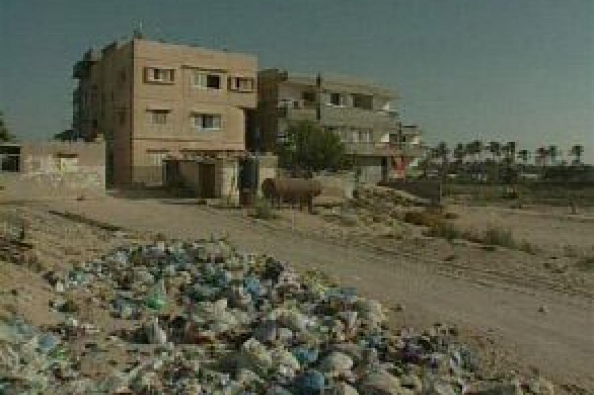 Domy v pásmu Gazy