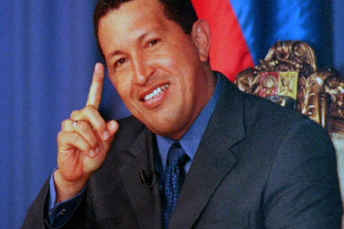 Prezident Hugo Chávez