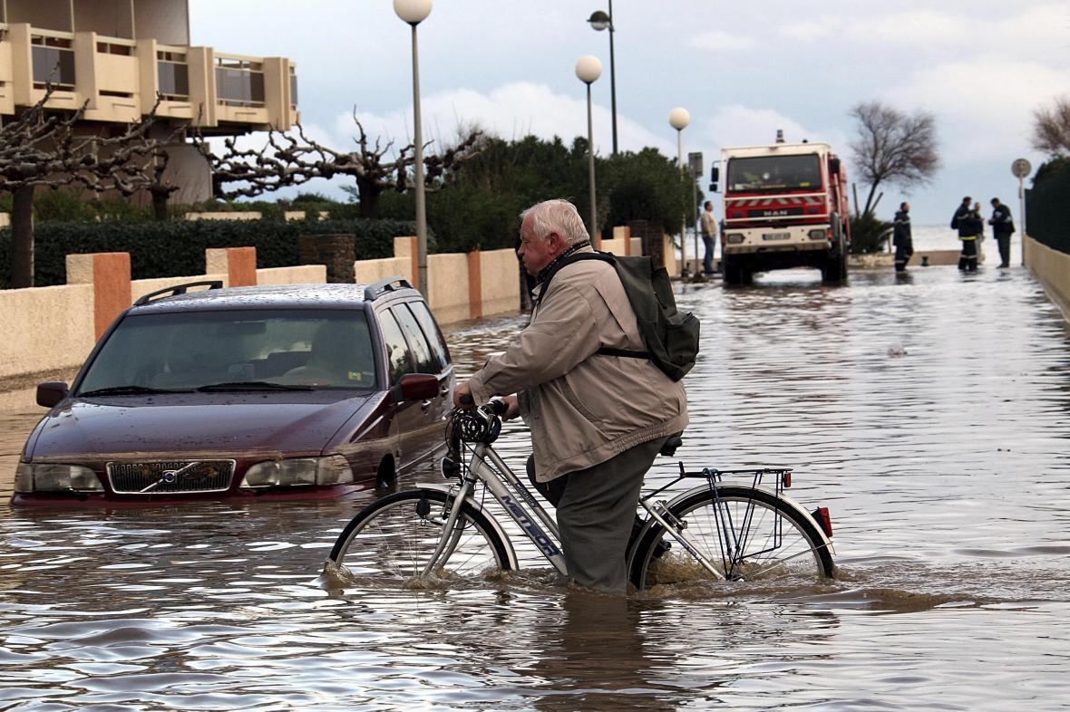 Záplavy na jihu Francie