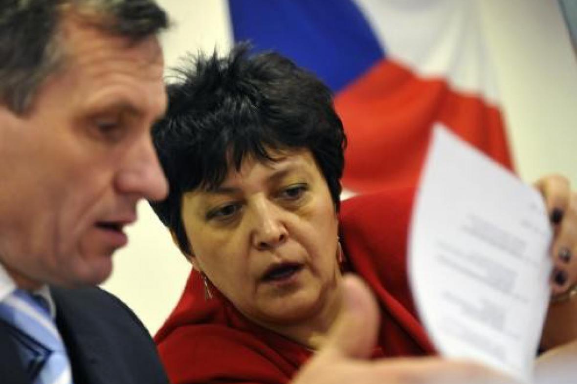 Jiří Čunek a Džamila Stehlíková