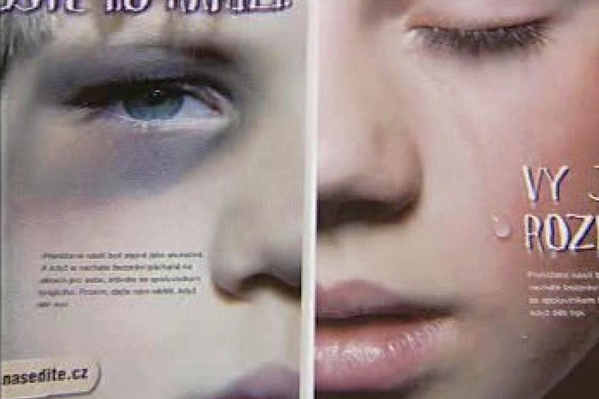 Ohrožené a týrané děti