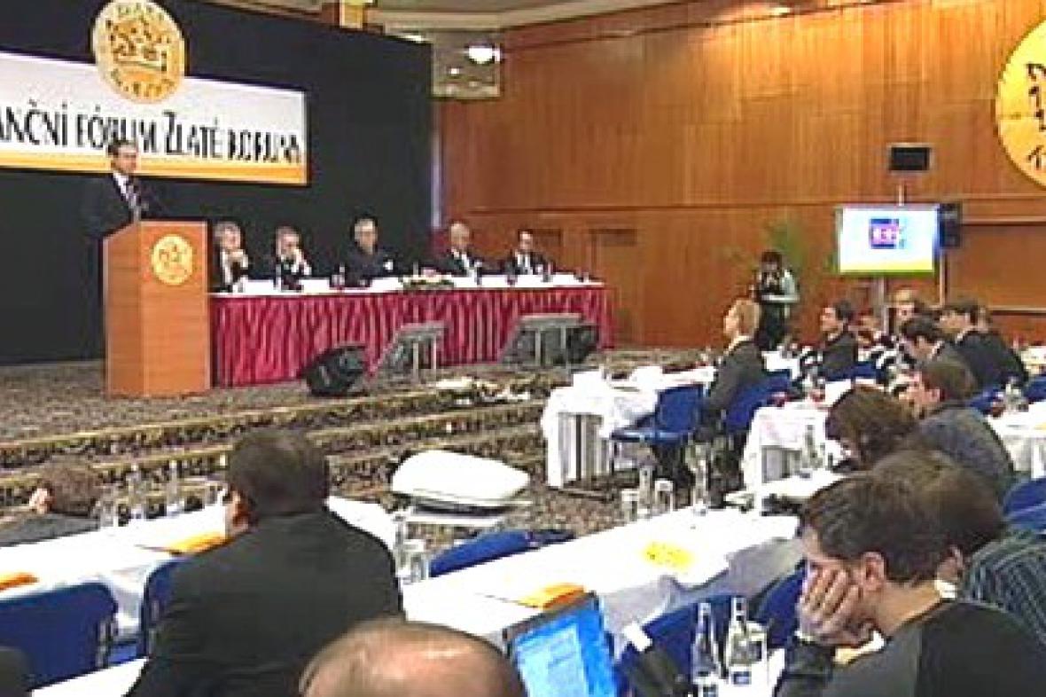 Finanční fórum Zlatá koruna