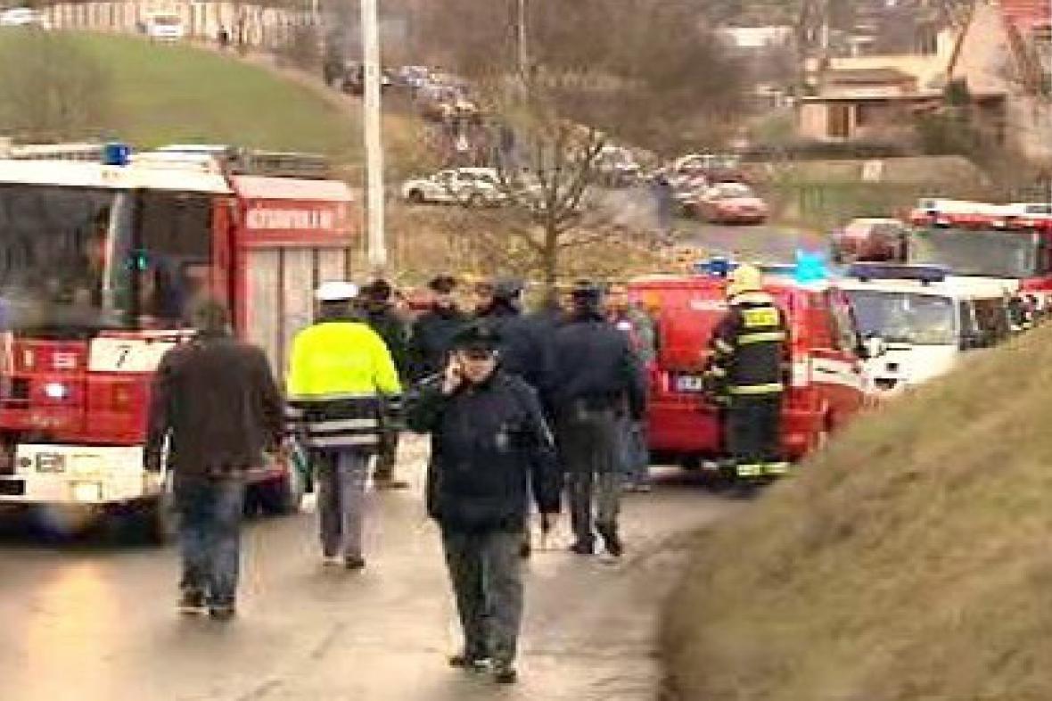 Místo tragické havárie při Rallyesprintu