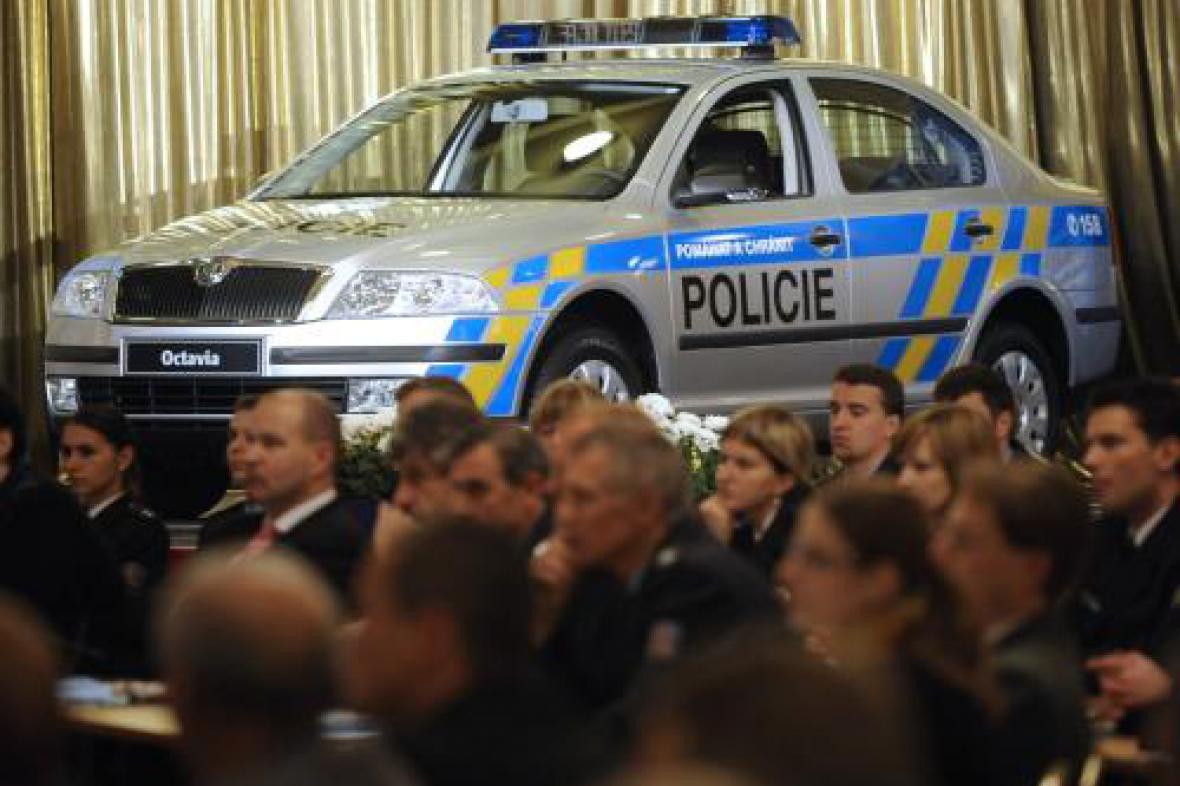 Nové policejní auto Škoda Octavia
