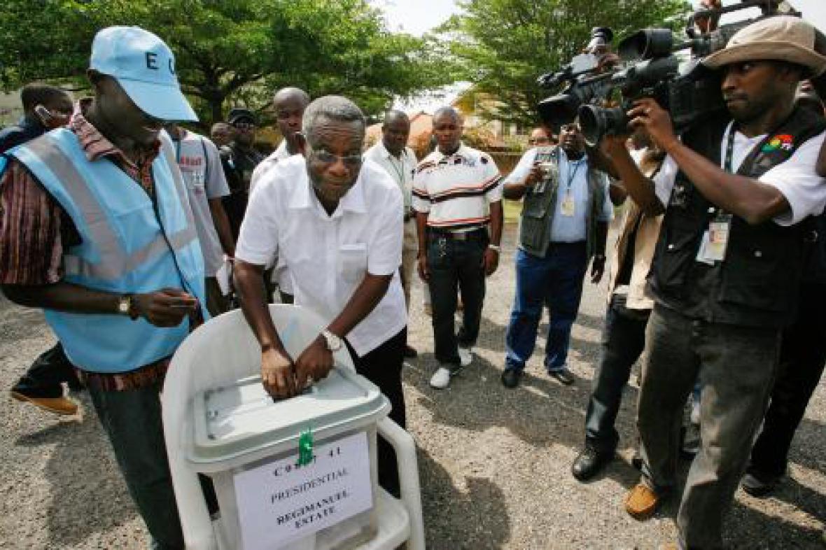 Volby v Ghaně