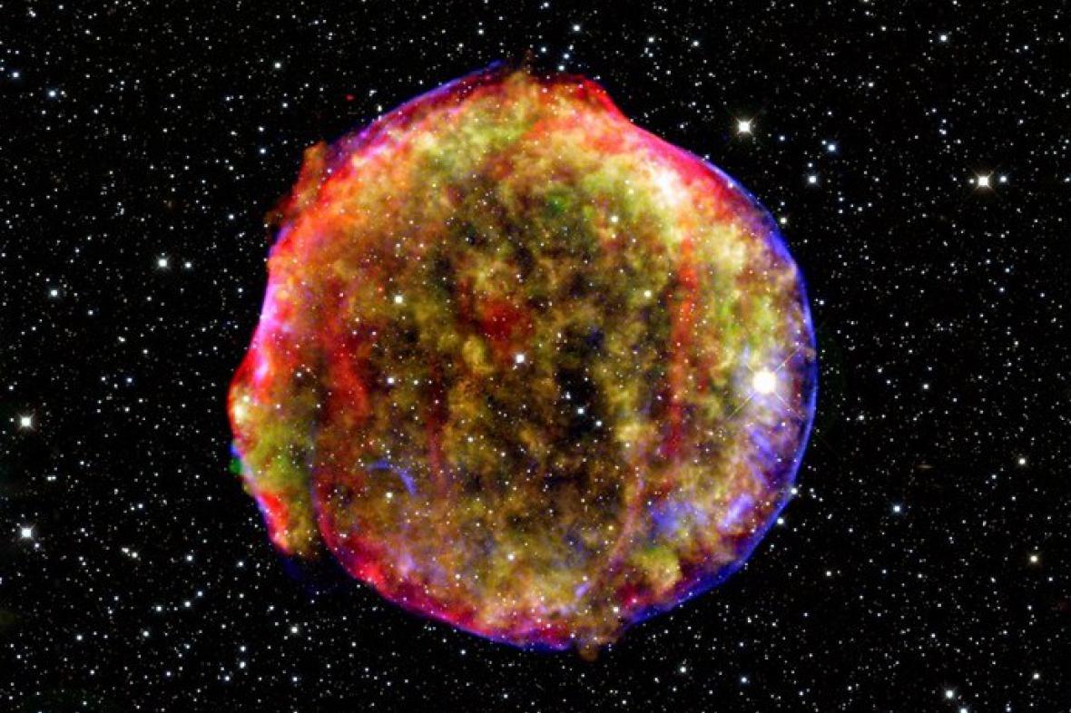 Výbuch supernovy