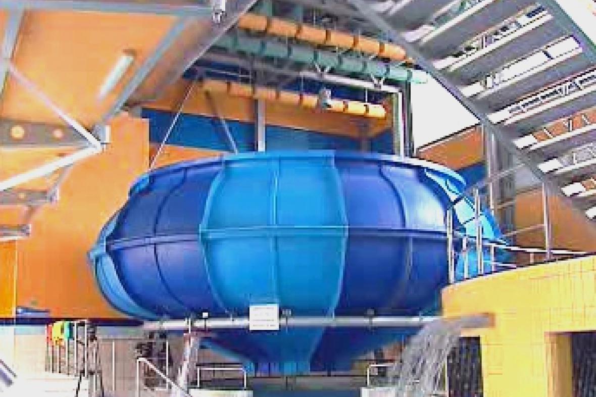 Spacebowl v akvaparku