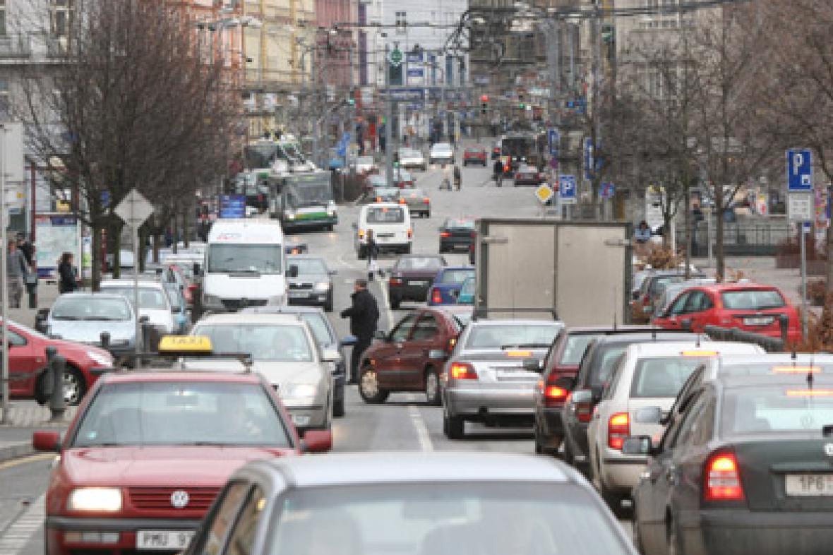 Provoz v Plzni