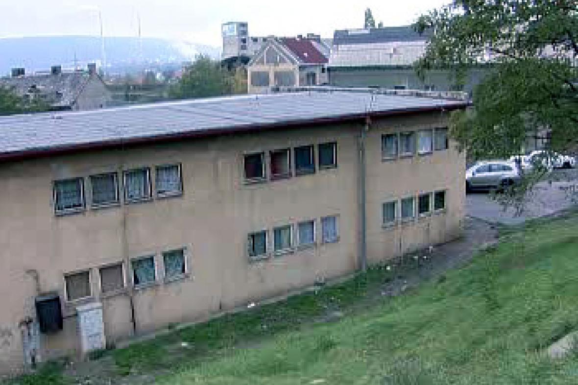 Nezkolaudovaný dům v Předlicích