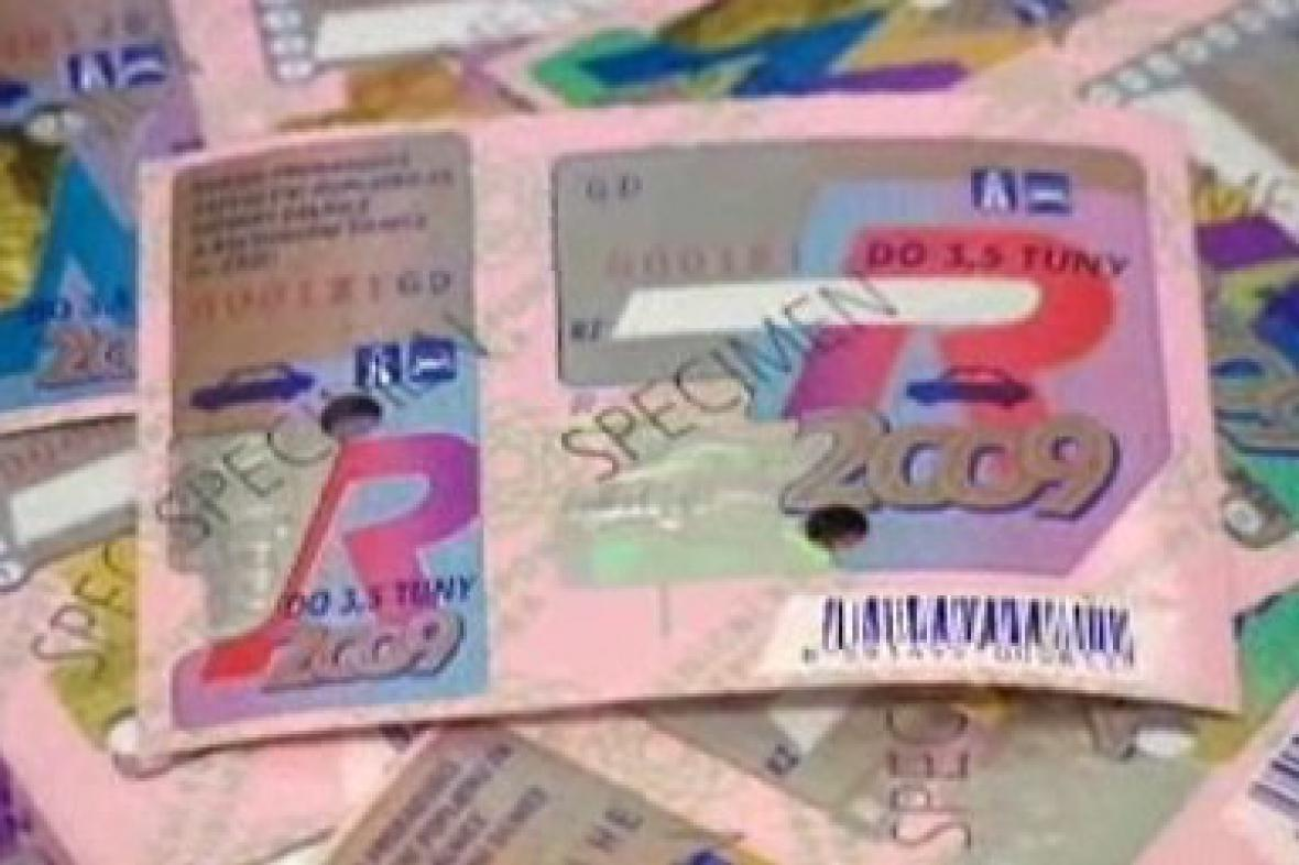Dálniční známky
