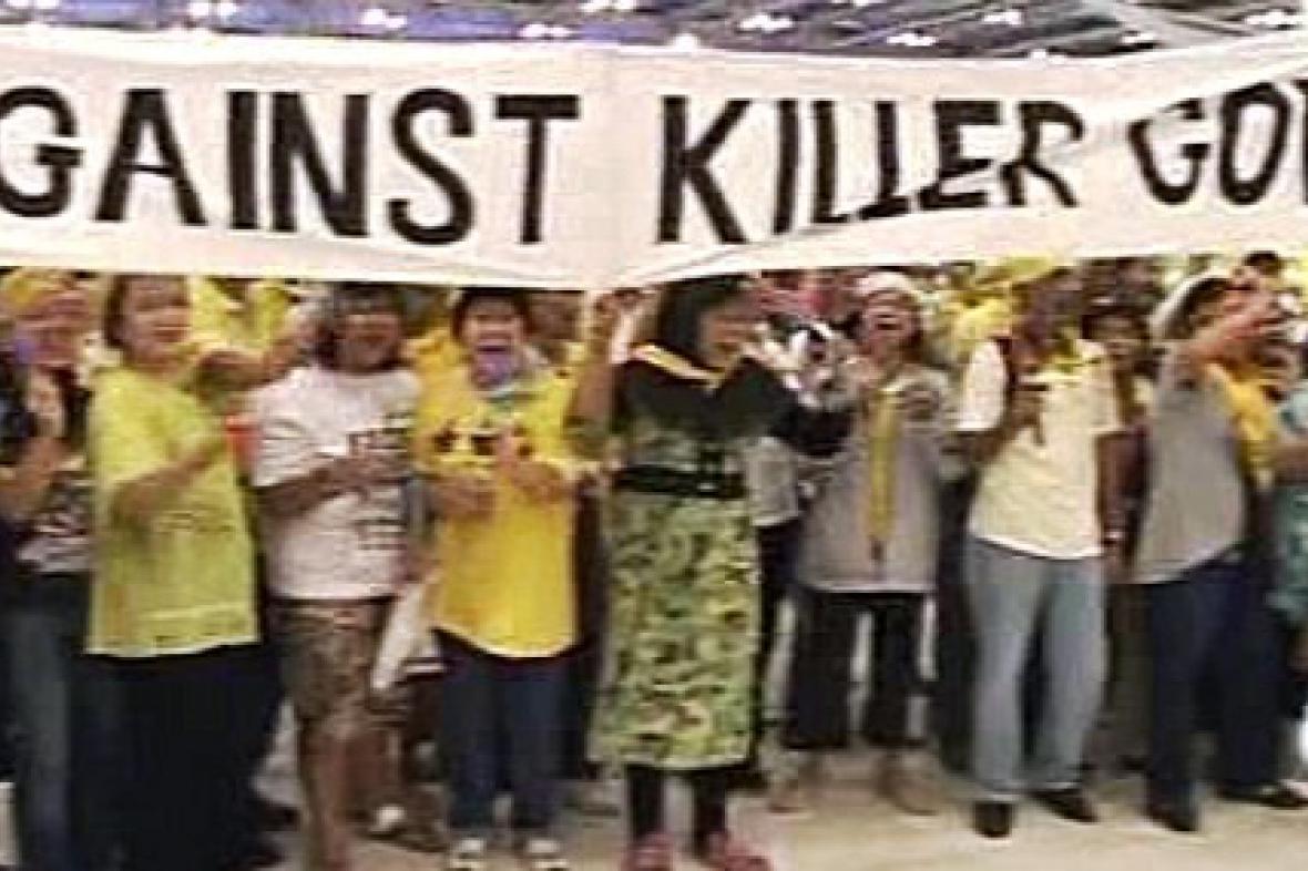 Demonstrace v Thajsku