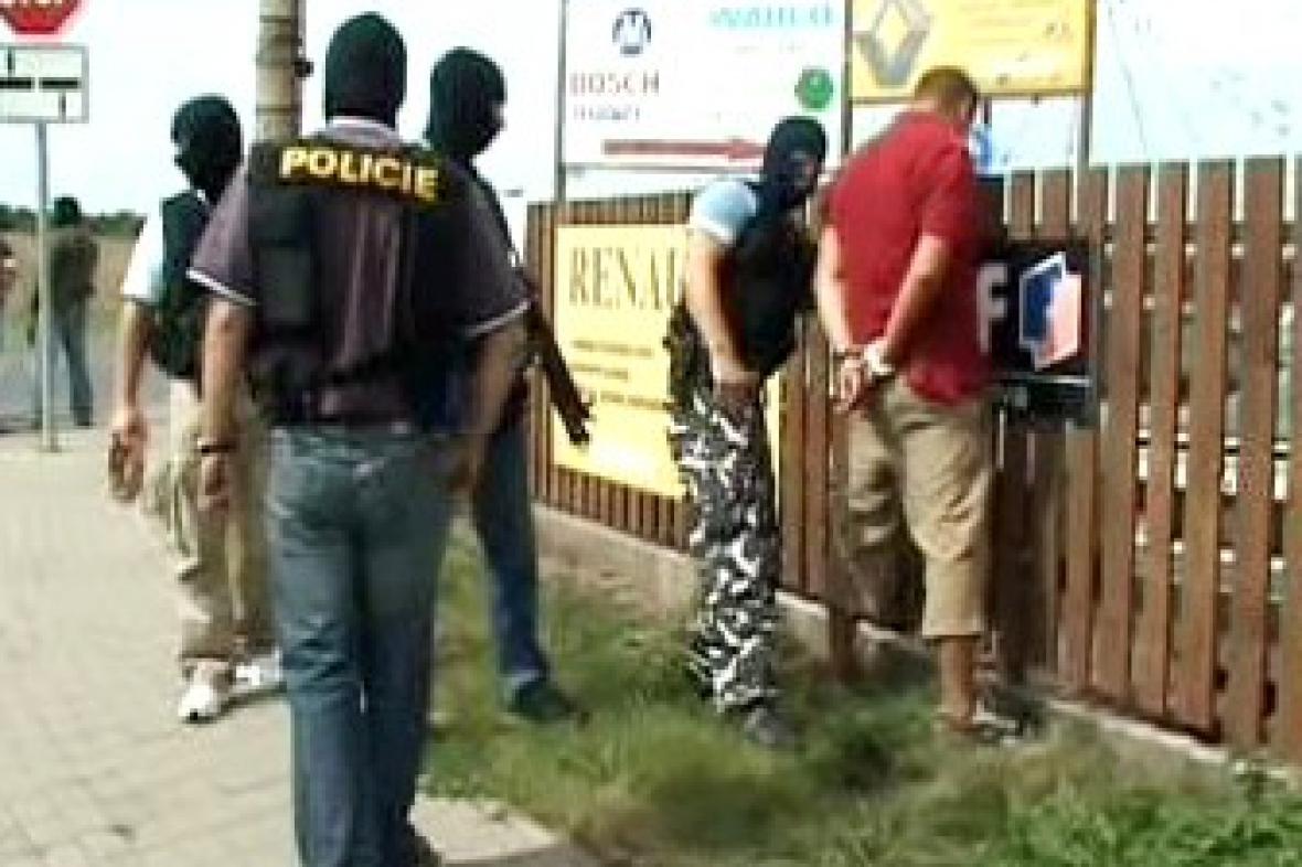 Zásah policejního komanda