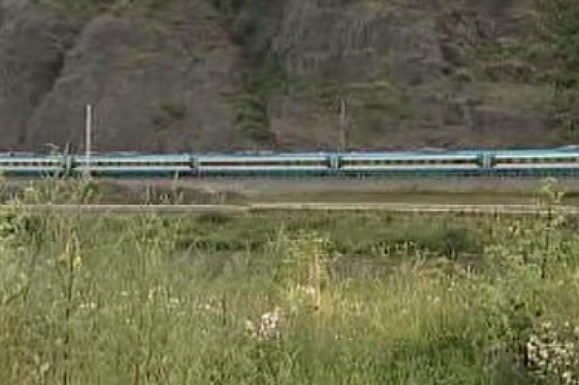 Vlak na Vysočině
