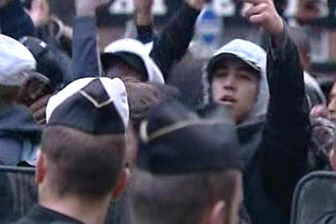 Demonstrace studentů ve Francii