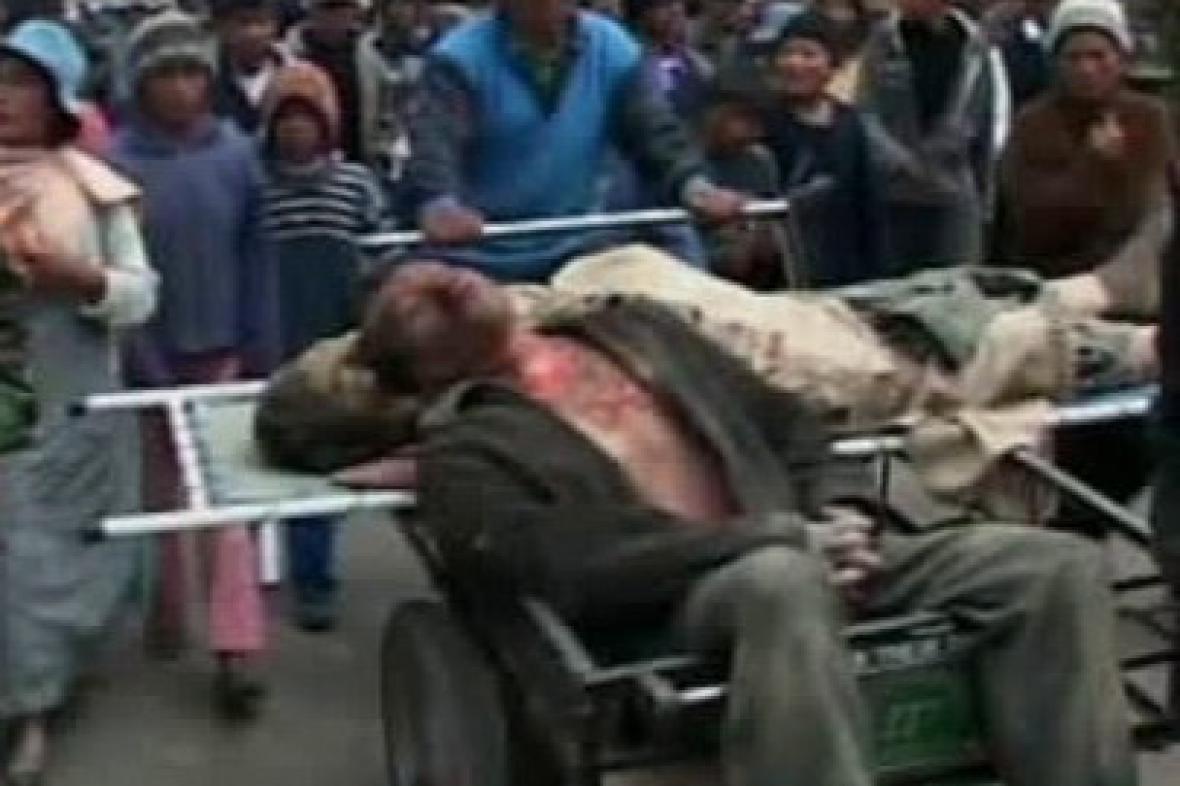 Oběti lynčování v Bolívii
