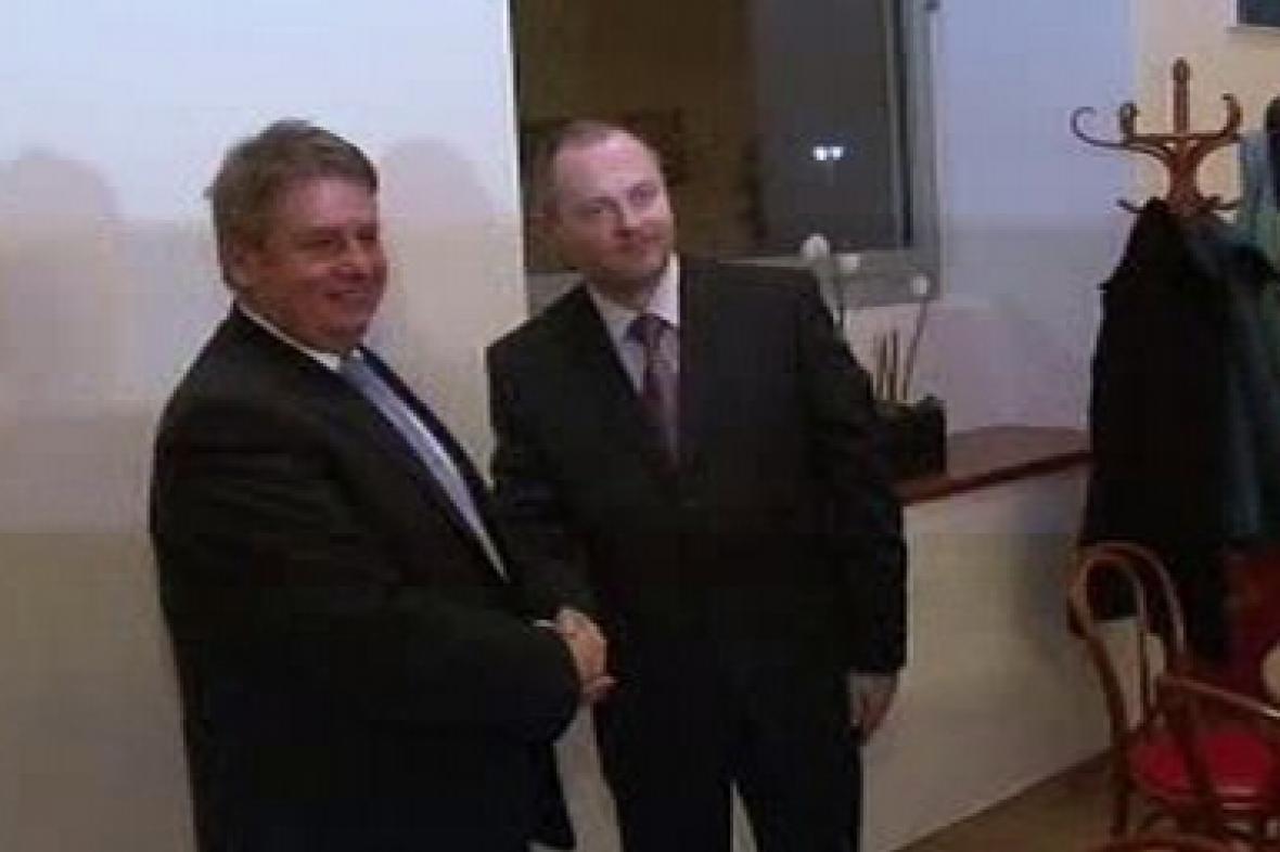 Michal Hašek a Milan Venclík