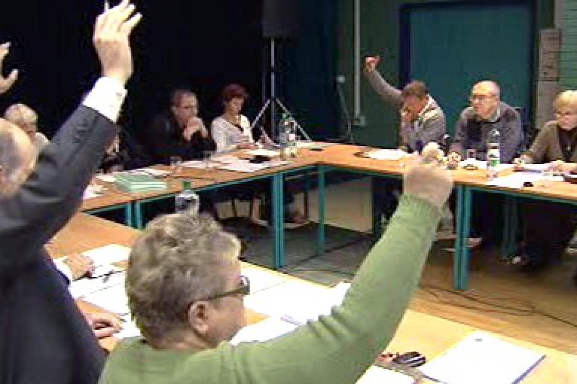 Hlasování o odvolání místostarosty