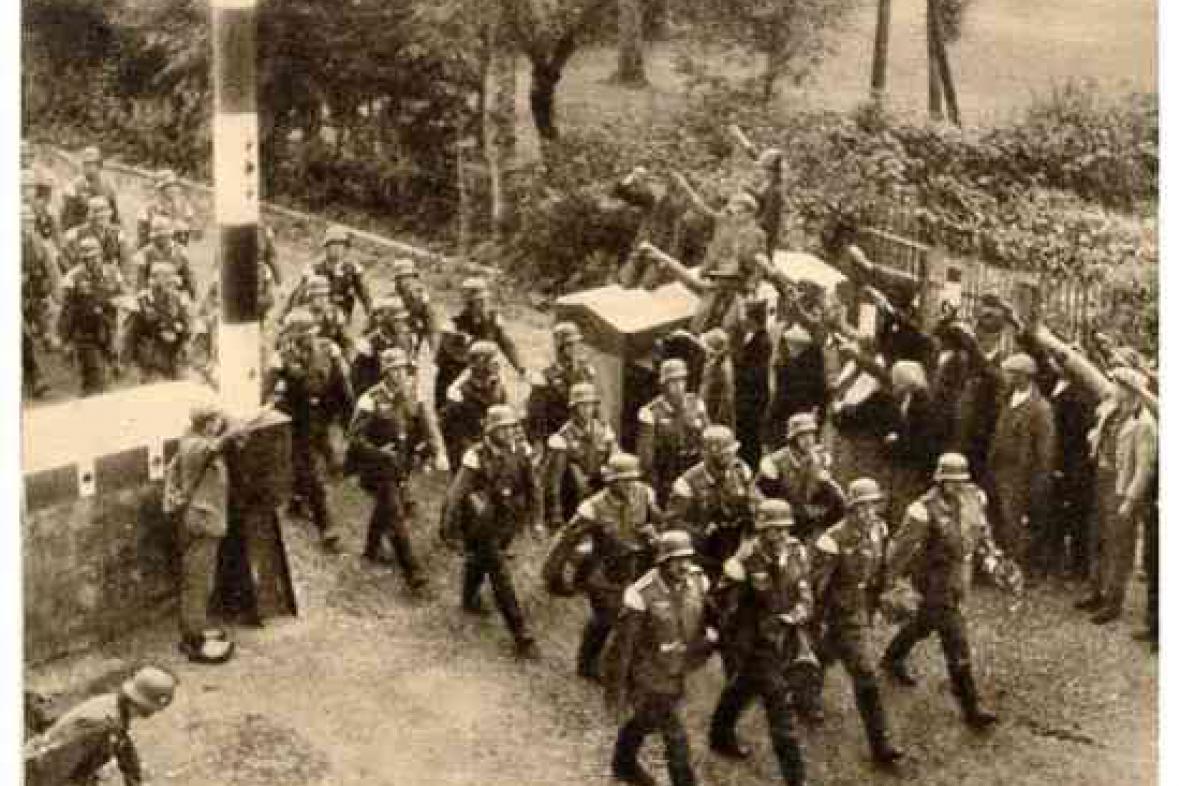 Vstup německých vojsk na území Československa