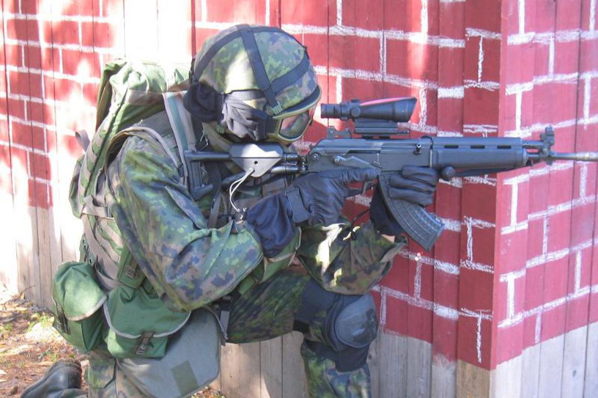 Finský voják