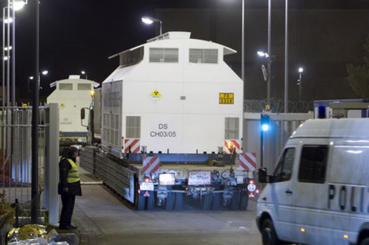 Transport jaderného odpadu