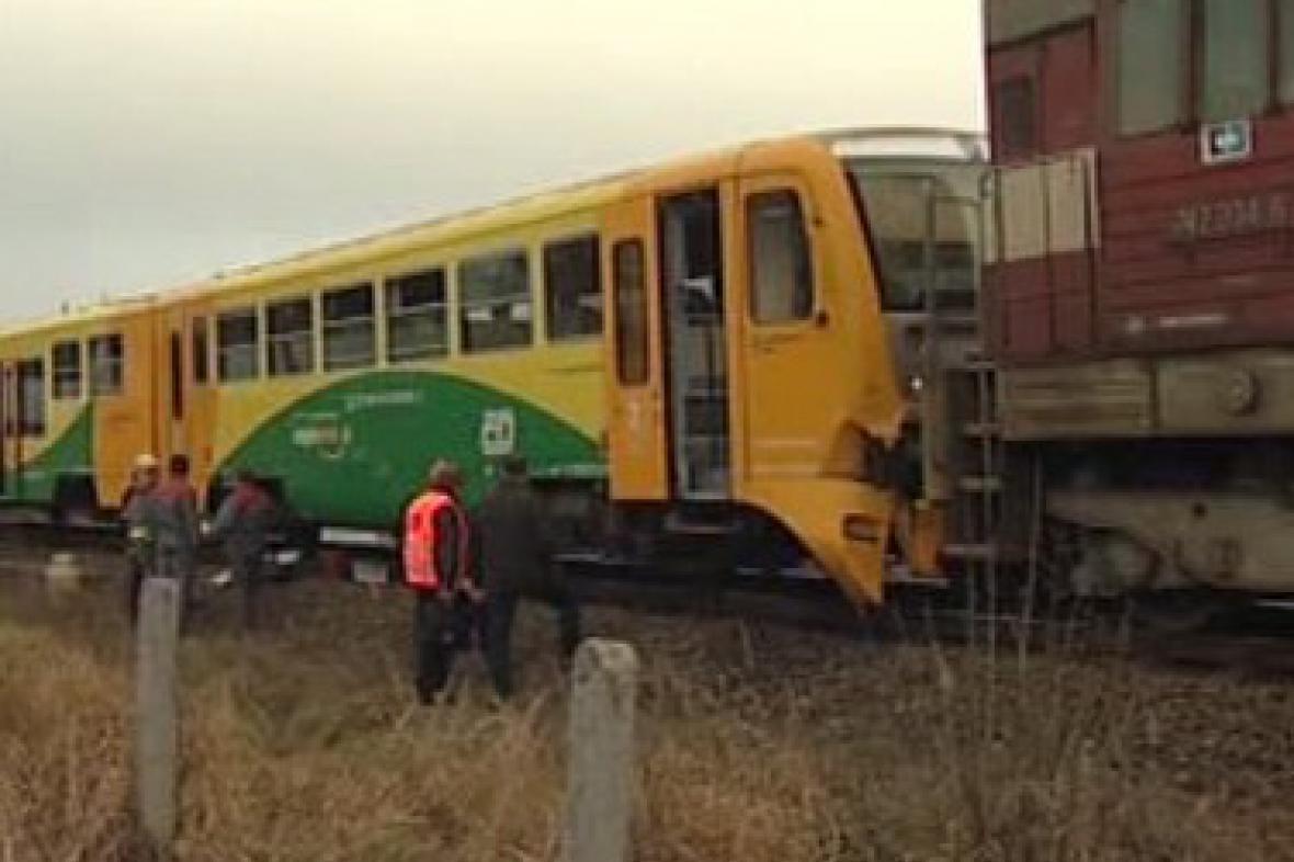 Nehoda dvou vlaků