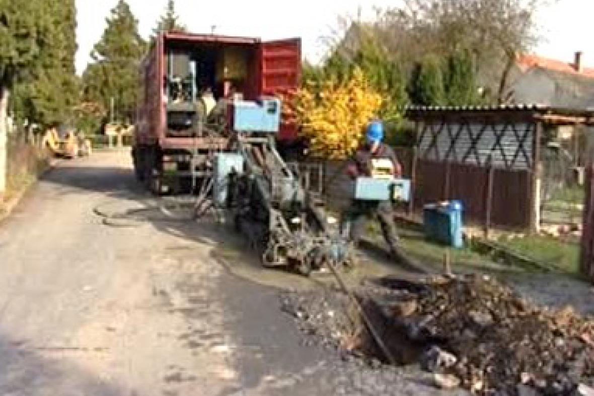 Výměna litinového potrubí