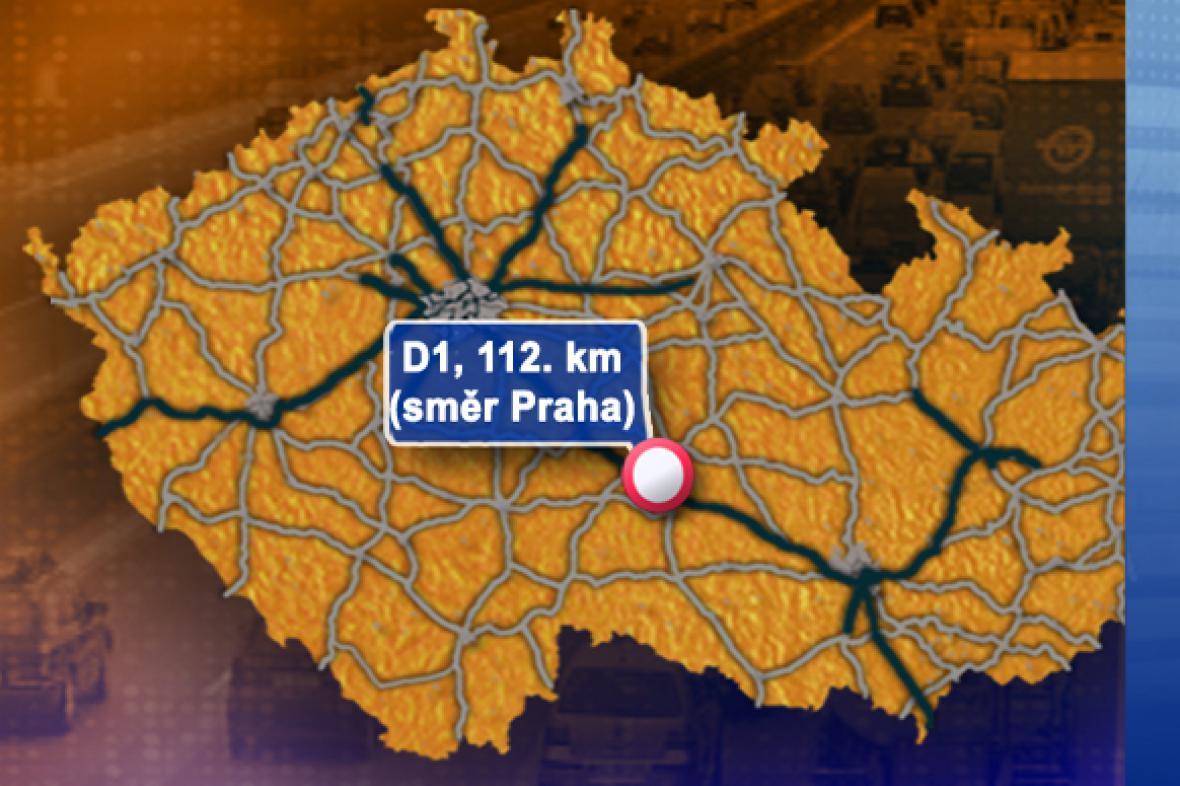 Dopravní situace v pondělí 3. 11. 2008