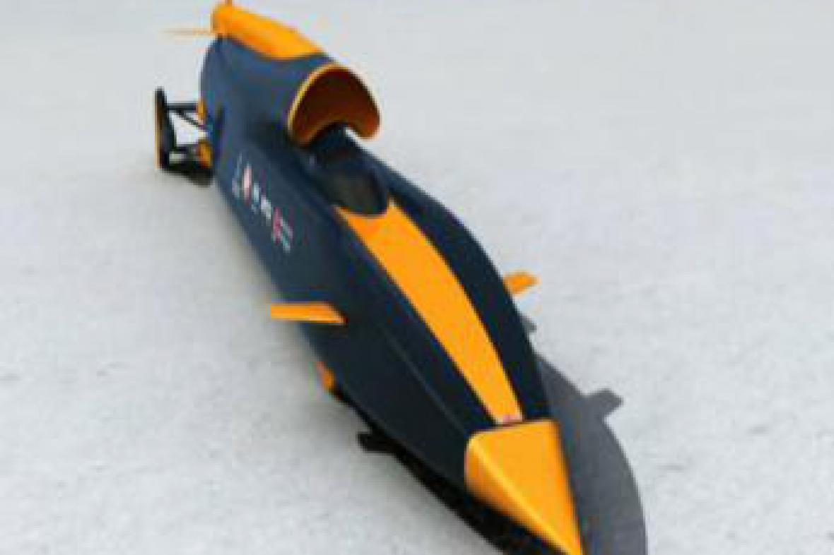Vizualizace nejrychlejšího auta světa