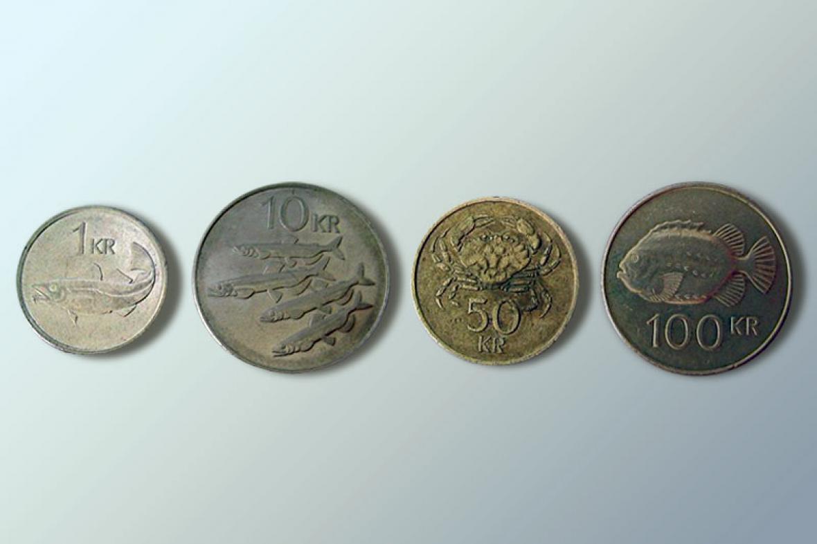 Islandské mince